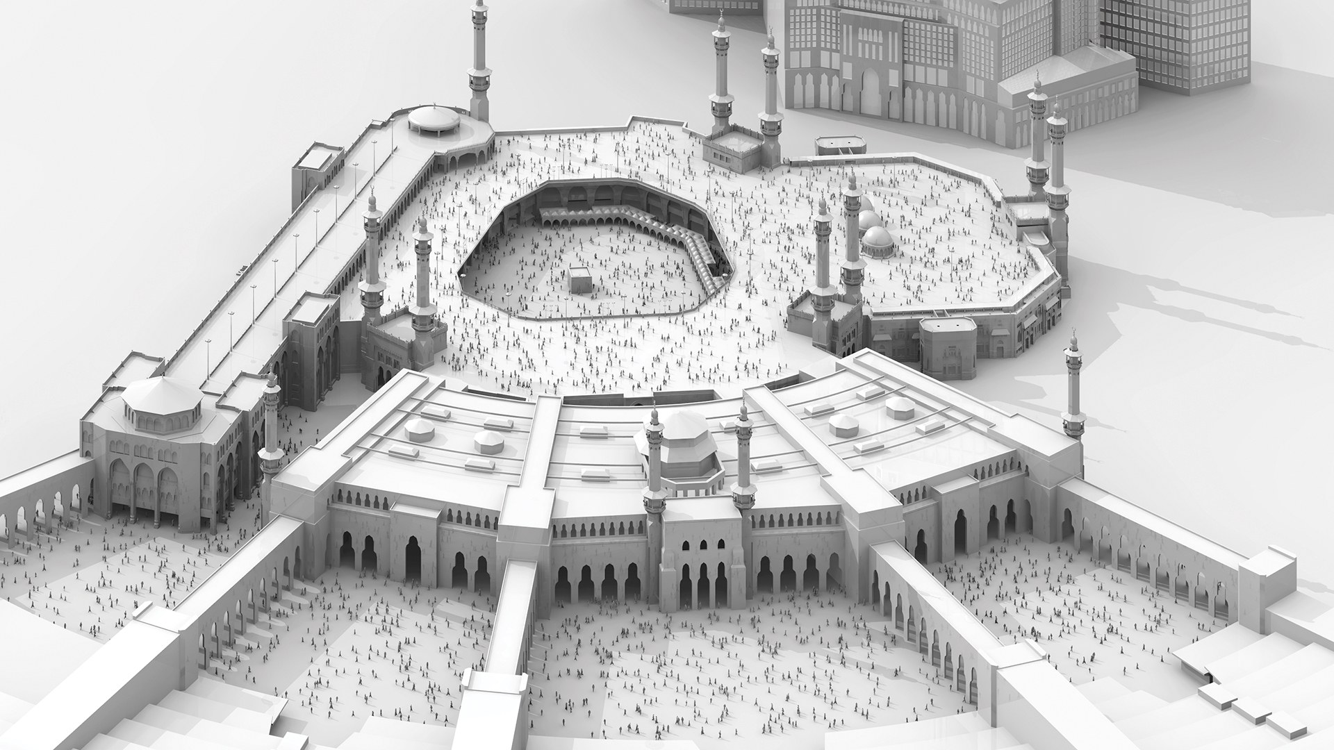 Holy Mosque in Makkah Extension